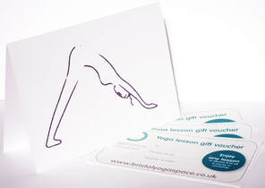 Bristol YogaSpace Gift Vouchers for Yoga class