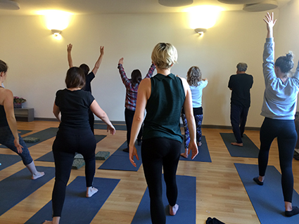 YogaSpace Bishopston Open Day 2016