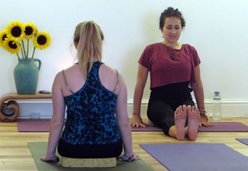 Beginners yoga at Bristol YogaSpace